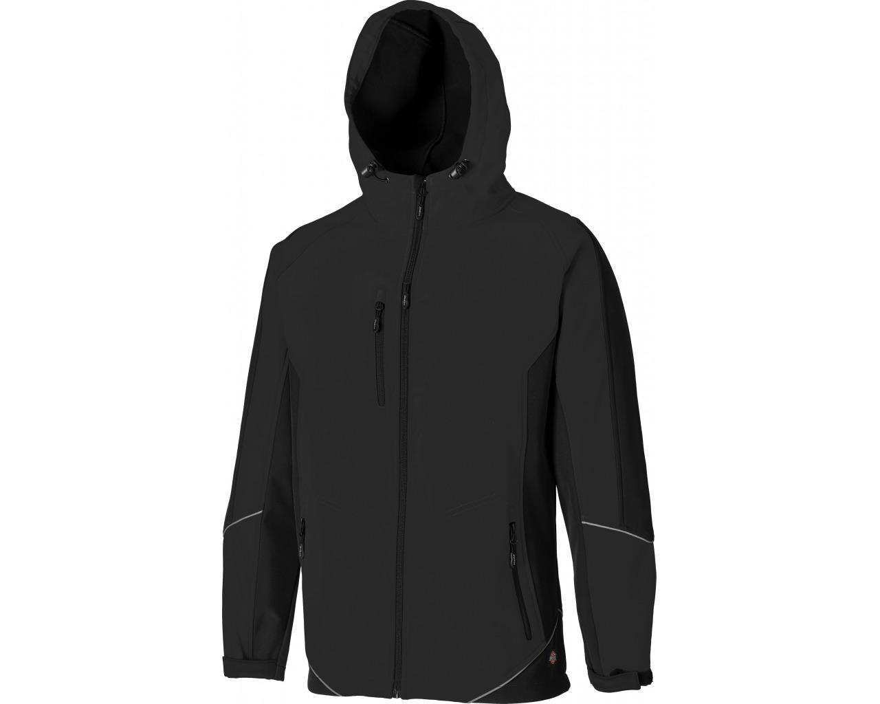 Dickies Two Tone Black Soft Shell Jacket 1