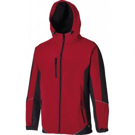 Dickies Two Tone Red/Black Softshell Jacket