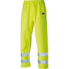 Dickies Waterproof Hi Vis Safety Trousers