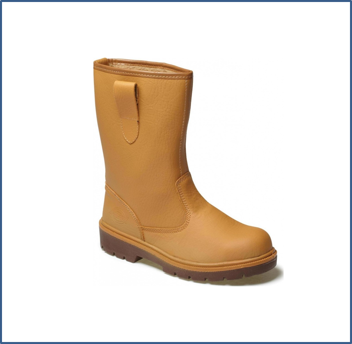 Dickies Lined Safety Rigger Boot