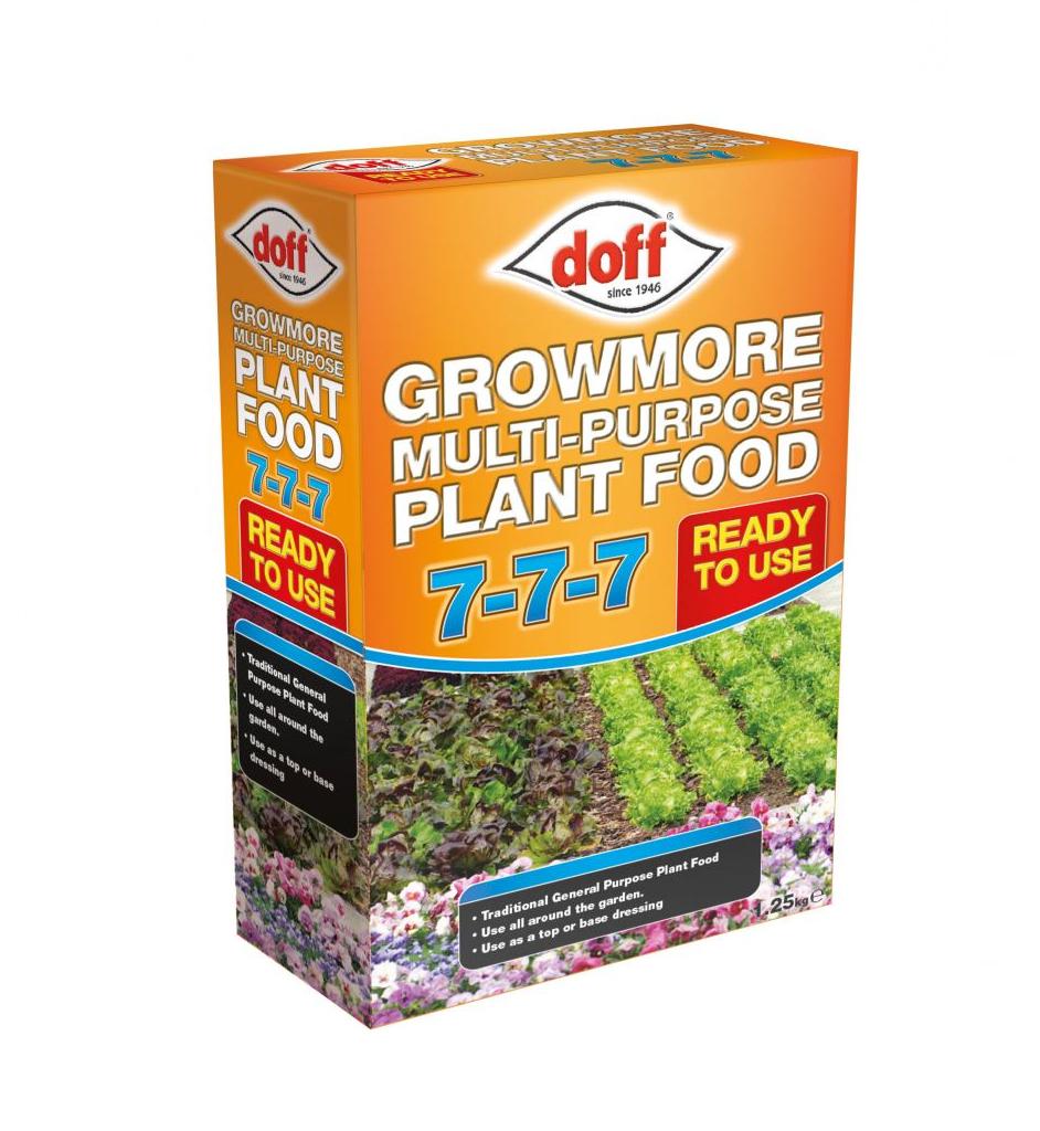 Doff 1.25kg Growmore Plant Food