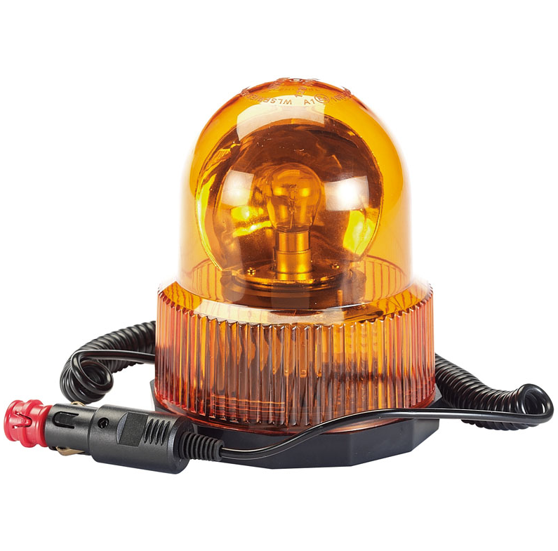 Draper 12V Magnetic Base Rotating Beacon 1
