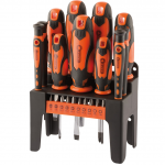 Draper 21pc Soft Grip Screwdriver Set 1