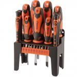 Draper 21pc Soft Grip Screwdriver Set