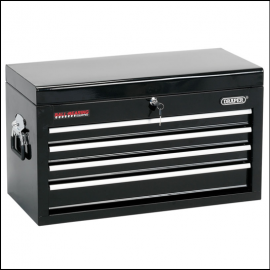 Draper 4 Drawer Black Tool Chest 1