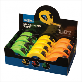 Draper 5m Length High Visibility Measuring Tape