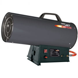 Draper Jet Force Propane Space Heater 40KW-136kBTU 1
