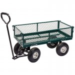 Draper Steel Mesh Gardeners Cart