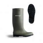 Dunlop Green PVC Wellington Boot