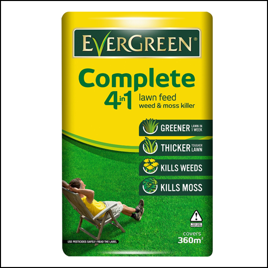 EverGreen Complete 4 in 1 Lawn Care 360m2