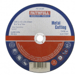 Faithfull Metal Cutting Disc 230 x 3.2 x 22.23mm