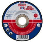 Faithfull Metal Grinding Disc 115 x 6.5 x 22mm