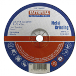 Faithfull Metal Grinding Disc 230 x 6.5 x 22.23mm
