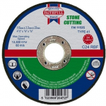Faithfull Stone Cutting Disc 115 x 3.2 x 22mm