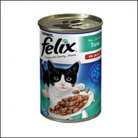 Felix Adult Cat Tuna Chunks in Jelly 400g Can