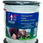 Fencemen 200M Electric 6mm White Rope Fence