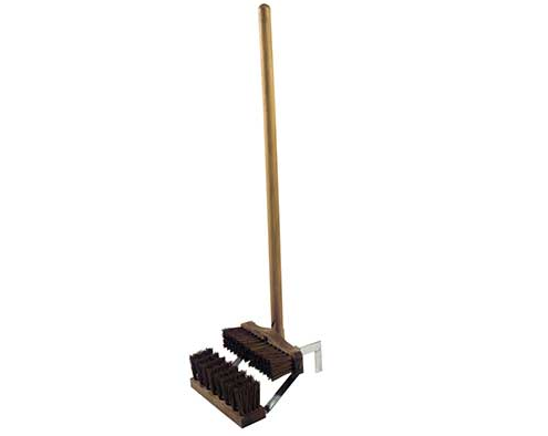 Hillbrush Finest Stiff Deluxe Boot Wiper with Handle 1