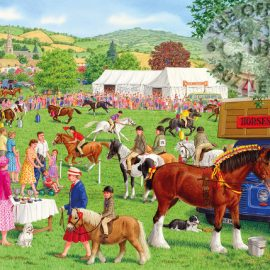 Gibsons Horses for Courses 500pc Puzzle