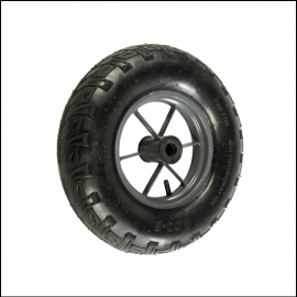 Haemmerlin Wheelbarrow TPW-400 Twin Pneumatic Replacement Wheel 1