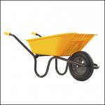 Haemmerlin Vibrante GO Yellow 90L Pneumatic Wheelbarrow 1