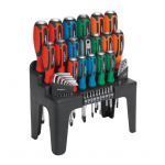Sealey 44pc Hammer Thru Screwdriver Set