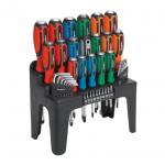 Sealey 44pc Hammer Thru Screwdriver Set