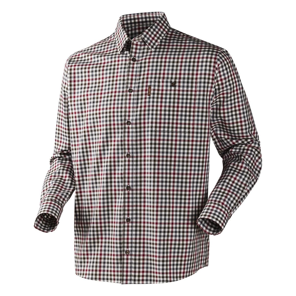 Harkila Milford Shirt Beetroot Check 1