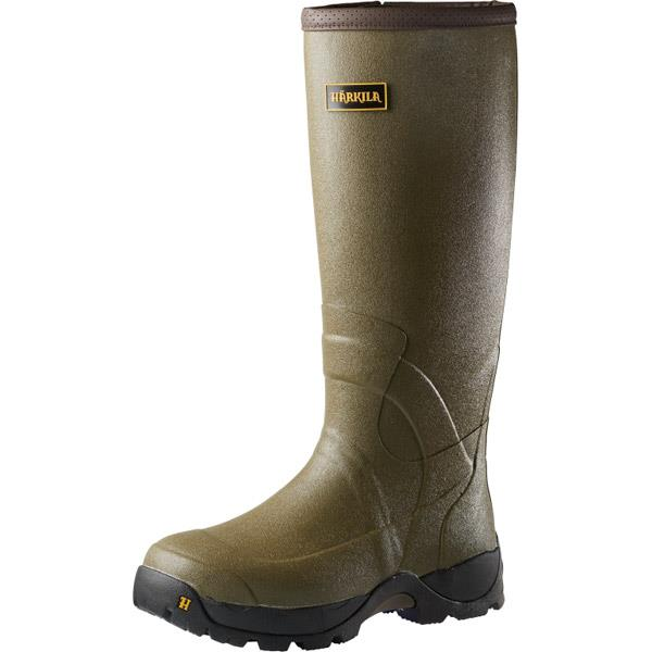 Harkila Norse 18inch 3mm H-Vent Dark Olive Boots