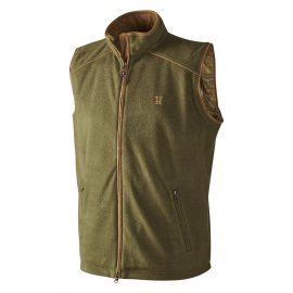 Harkila Sandhem Fleece Vest Olive Green 1