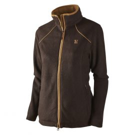 Harkila Sandhem Lady Fleece Jacket Dark Port Melange 1
