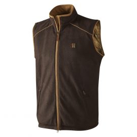 Harkila Sandhem Fleece Vest Dark Port Melange 1