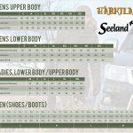 Harkila-Seeland Size Guide