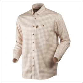 Harkila Stenstorp Shirt Burnt Orange Check 1