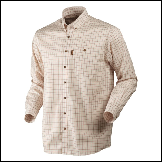 Harkila Stenstorp Shirt Burnt Orange Check 1