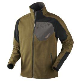 Harkila Thor Fleece Jacket Olive Green-Black 1