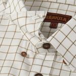 Harlika Stenstorp Shirt Olive Check 2
