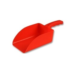 Harold Moore Small Plastic Scoop Red
