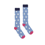 Joules Fab Fluffy Light Blue Socks
