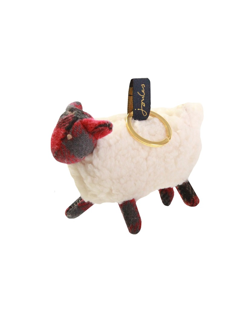 Joules Tweedle Sheep Novelty Keyring