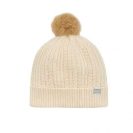 Joules Bobble Porcelain Bobble Hat