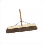 Hillbrush 24in Platform Broom with fitted Handle & Stay 1
