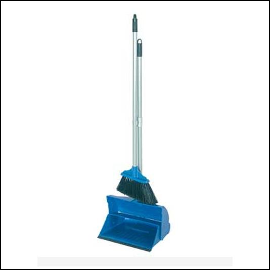 Hillbrush Lightweight Lobby Dustpan & Soft Brush Set 1