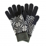 Barbour Fair Isle Gloves