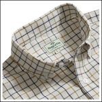 Hoggs of Fife Berwick Short Sleeve Tattersall Checked Shirt