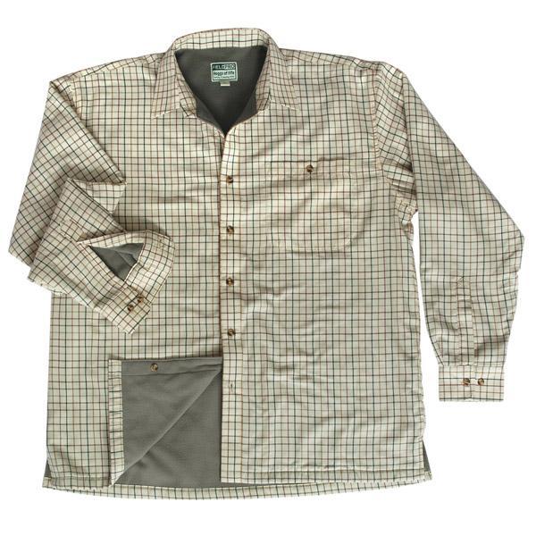 Hoggs of Fife Birch Micro Fleece Lined Shirt 1