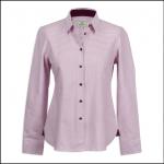 Hoggs of Fife Brodie Lilac Check Shirt 1