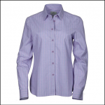 Hoggs of Fife Bryony Pink-Blue Cotton Check Shirt 2