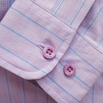 Hoggs of Fife Bryony Pink-Blue Cotton Check Shirt 3