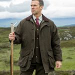 Hoggs of Fife Harewood Lambswool Tweed Shooting Coat 2