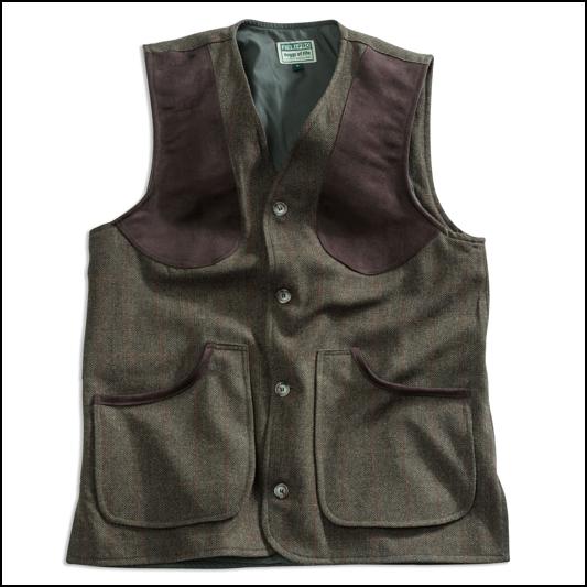 Hoggs of Fife Harewood Lambswool Tweed Waistcoat 1